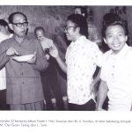 Romo Soemandar bersama frater Hari siswoyo dan br kardija