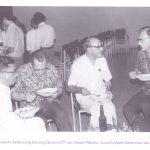 Leo Soekoto bersama Romo Waskito, Romo Kadarman dan Romo Kuyt