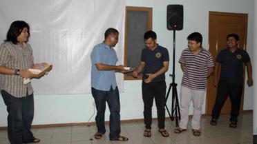 Café Puna Launching Tiga Buku